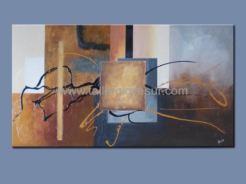 Cuadro moderno abstracto richard ab 1082 arte moderno pintado a mano cuadros modernos - Como pintar un cuadro moderno ...
