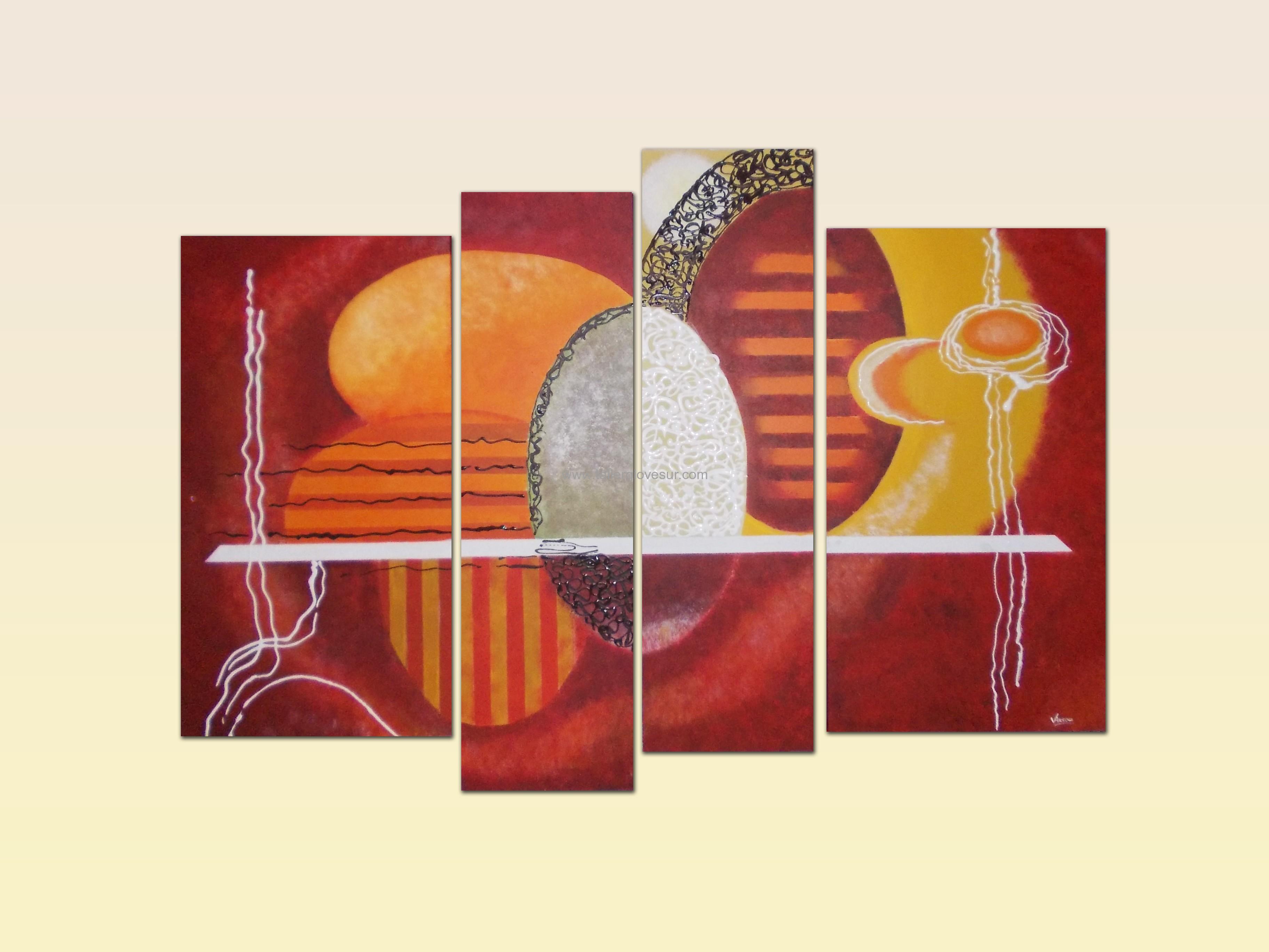 Cuadro abstracto victoria ab 1057 pintado a mano for Fotos cuadros abstractos