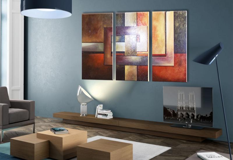 Cuadro moderno abstractos belen ab 1090 arte moderno pintado a mano cuadros modernos - Belen moderno ...