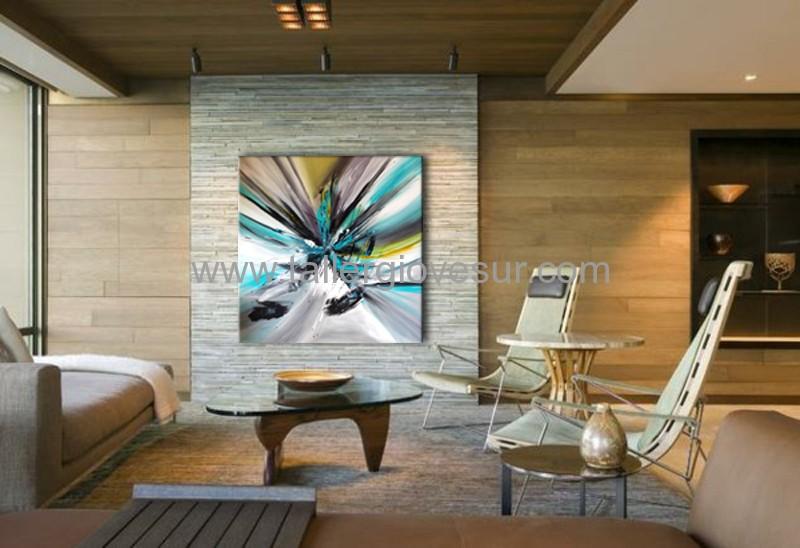 Cuadro Moderno Abstractos Caro Ab 1093 Arte Moderno Pintado A - Cuadros-modernos-salon