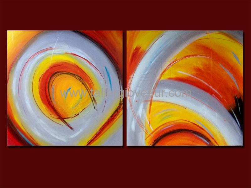 Cuadro abstracto micaela ab 1037 pintado a mano for Fotos cuadros abstractos modernos