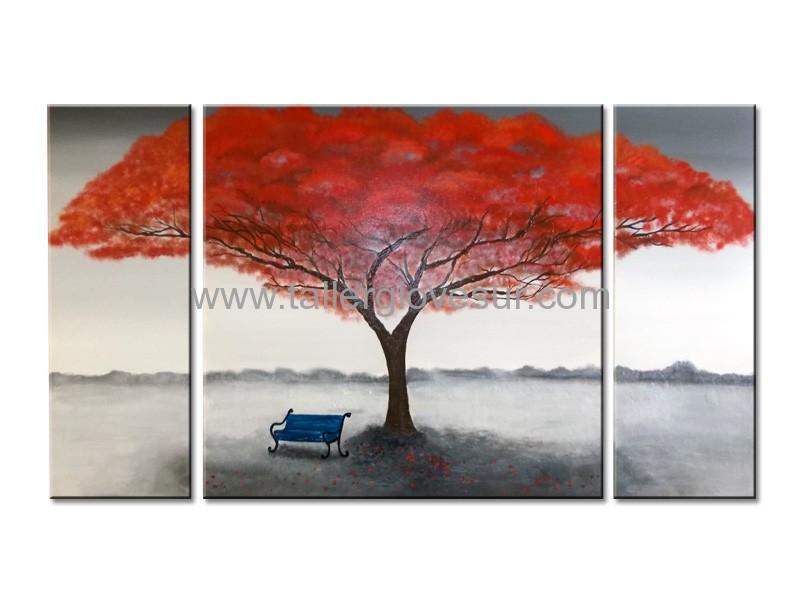 Cuadro moderno abstracto sabrina ab 1096 arte moderno - Cuadros pintados a mano online ...